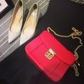 2015 VENDA! Mulheres sacos pequenos sacos de ombro bolsas de bloqueio flor de ameixa rossbody pra marca de design de luxo bolsas mensageiro