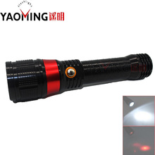 Big sale Laser Flashlight 5W High Power Cree Q5 3 modes led flashlight lamp lanterna beam light red laser pointer flashlight linternas