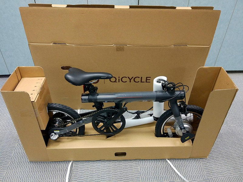 UT8BY2aXYtaXXagOFbXG - Unique model Mi Qicycle 20KM/H Foldable Bluetooth 4.zero Telephone APP Monitor sensible Electrical Bicycle With 1.8'' Display bike