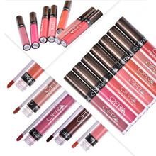 colores de moda lquido lipstick hot sexy colores pintura de labios lpiz labial mate