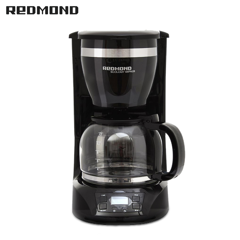 Coffee maker REDMOND RCM-1510 coffee machine coffee makers drip maker espresso cappuccino electric Drip dmwd electric waffle maker muffin cake dorayaki breakfast baking machine household fried eggs sandwich toaster crepe grill eu us