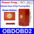 New Updated NitroOBD2 With Reset Button Power Prog Red For Diesel Cars Chip Tuning Box Plug & Drive Nitro OBD2 More Power Torque