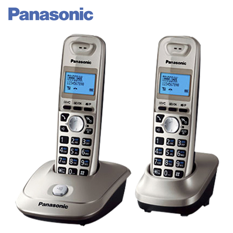 Panasonic KX-TG2512RUN DECT phone, Additional handset included, Eco-mode, Time / date display, Communication between handsets panasonic kx tg2512ru2 dect phone additional handset included eco mode time date display communication between handsets