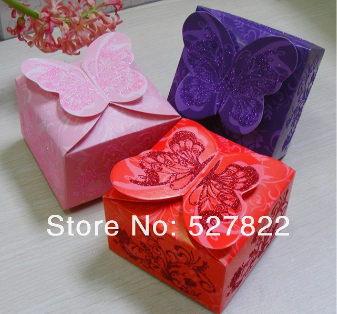 Hot 100pcs 3 Colors Dark purple Pink Red Butterfly Angel Beautiful Candy Box Creative DIY Wedding Favor Boxes,wedding gift.jpg