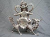 редкие отличительной богов старый тибет серебро статуя/скульптура, лучшая коллекция и украшение, бесплатная доставка