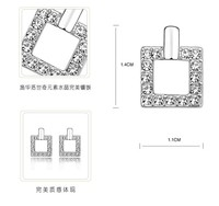 дэна новая мода сделано с австрийскими кристаллами продаж цепочки и ожерелья серьги комплект ювелирных изделий для женщин подарок на день святого валентина #83243