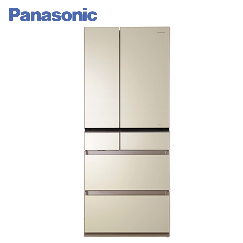 Panasonic NR-F610GT-N8 Refrigerators Super-fast freezing of fresh food ECONAVI system Advanced Storage System Eco panasonic nr b510tg t8 refrigerator touch control panel the new generation econavi light sensor intelligent inverter