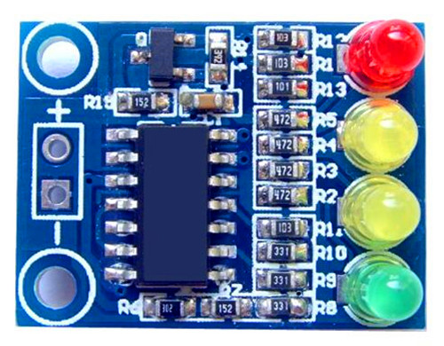 Free Shipping!!!  12V battery / 4 segment / battery indicator /Electronic Component