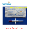 Free Shipping Pet Microchips 2.12x12mm ISO11784/785 FDX-B cat dog,snake injector 134.2KHz