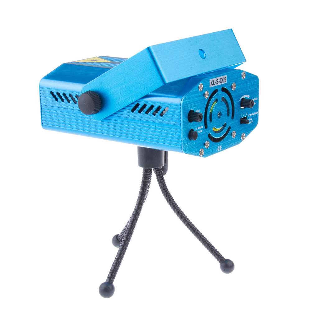 Stage Laser Light DJ Club Disco Projector Stage Laser Light Green Red Music Control Function AC 110-240V EU US UK AU Plug