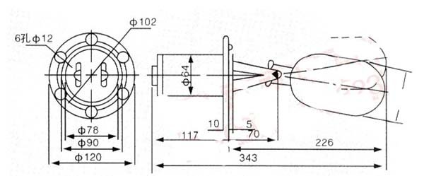Нержавеющая сталь 10 мм Диапазон контроля уровня жидкости Контролер AC 220 V