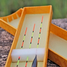 Sougayilang HIgh Quanlity Wooden Material 3Pcs/lot Fishing Float Wood Pole Float Exquisite Bobber Buoy Fishing Float Tackle
