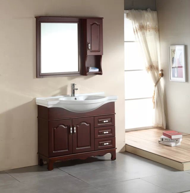 modern bathroom cabinet design with mirror 0283 103 - Bathroom Cabinet Design