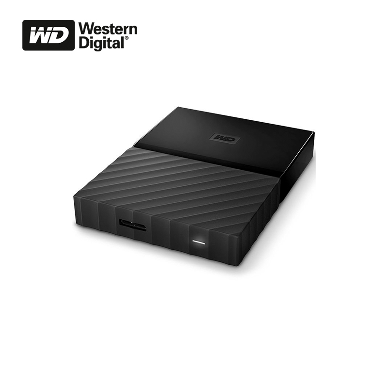 External Hard Drive HDD WD MY PASSPORT 3TB usb 3 0 5gbps 3tb 2 5 sata hdd case for desktops laptops silvery grey black