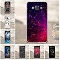 Casos de la cubierta del teléfono para samsung galaxy a5 2015 alivio 3d suave cubierta de silicona case para samsung galaxy a5 2015 a500 a500f a500h bolsas