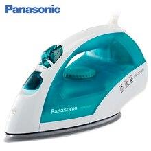 Panasonic NI-E410TMTW Утюг, 2150 Вт, Автоматическая система защиты от образования накипи, Каплевидная подошва с желобом для циркуляции пара, Очистка струей пара/самоочистка, Регулируемый поток пара