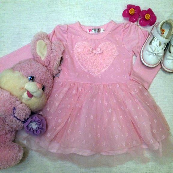 Нарядное платье для девочки с Алиэкспресс