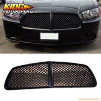 For 11 14 2011 12 Dodge Charger Front Bumper Mesh Grill Hood Honeycomb Grille Black USA Domestic Free Shipping Hot Selling