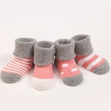 Cute Soft Autumn Newborn Baby Socks
