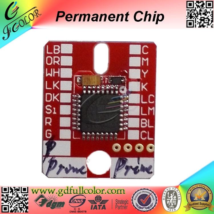 ФОТО 6 Colors Mimaki LH 100 Permanent Cartridge Chip for UJV 160  UJF 3042 JFX 1631 6042 UV ink Refills LH100