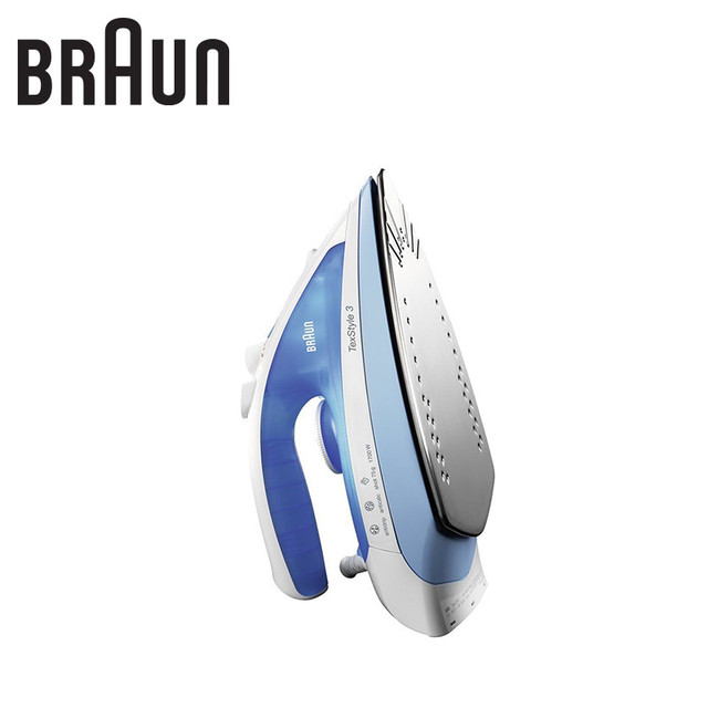 Iron BRAUN 3670 TS 340C steam generator for ironing irons steam Household for Clothes Selfcleaning Burst of Steam zipper