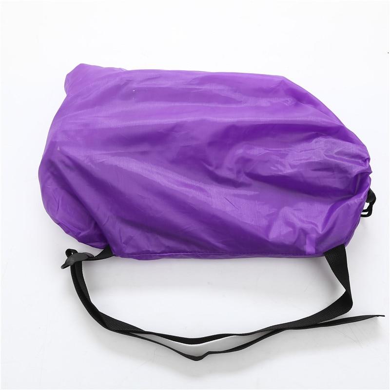 Camping Sofa Sleeping lay bag Fast Inflatable banana Bag Hangout Air Bed Lounger Lazy Chair Mattress hiking