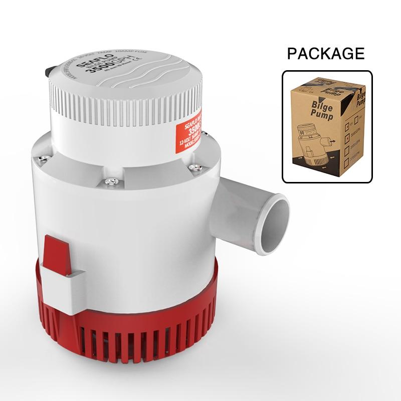 2016 Hot Sale Submersible Water Pump Bilge Pumps for Marine RV Campers Industrial