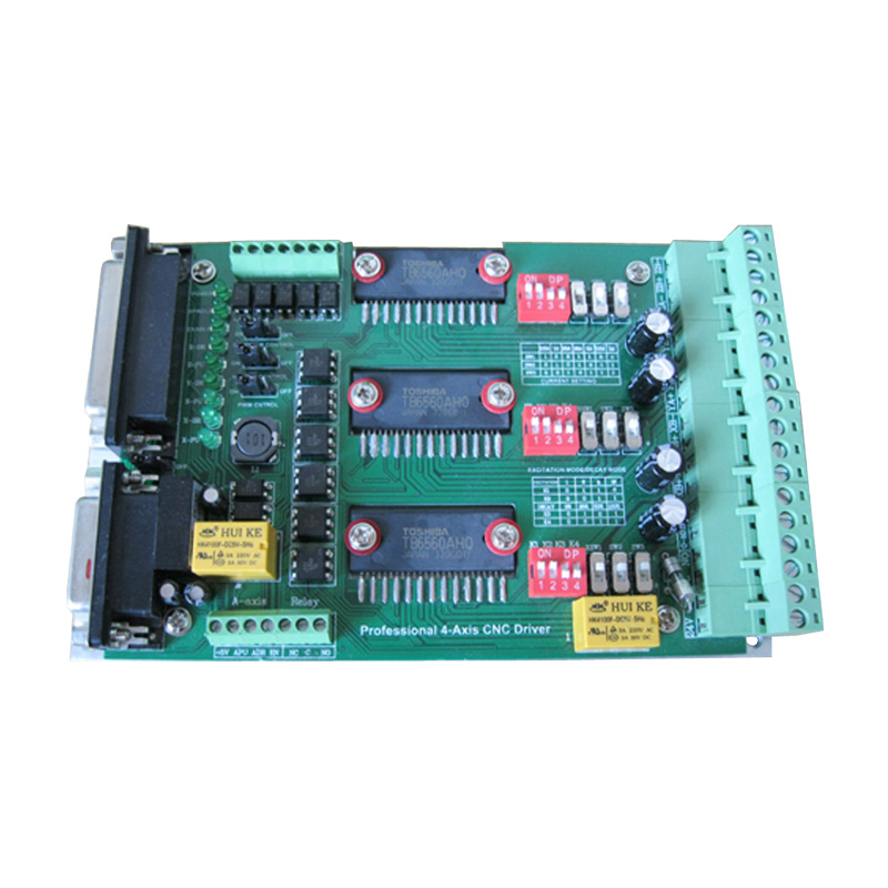 ФОТО CNC router control panel 3A axis drive plate engraving machine drive with heatsink TB6560 3A-3