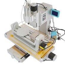 2016 newest CNC Router 5 Axis CNC Machine Drilling Milling Machine Engraver Machine High Precision Ball