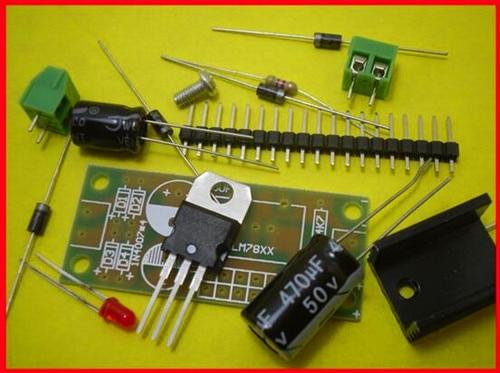 Free Shipping!!! 5pcs L7809 LM 7809 / three-terminal regulator module / 9V voltage regulator module suite