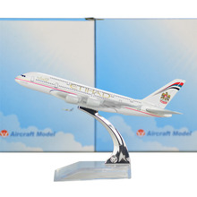 Etihad Airways  Airbus 380 16cm airplane child Birthday gift plane models toys Free Shipwping Christmas gift