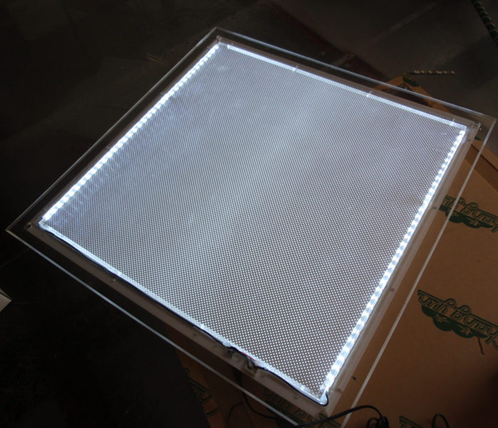 Slim Restaurant Acrylic Frame Led Lighting Menu Panel A1 Advertising Poster Lightbox Signage In Lights From On Aliexpress