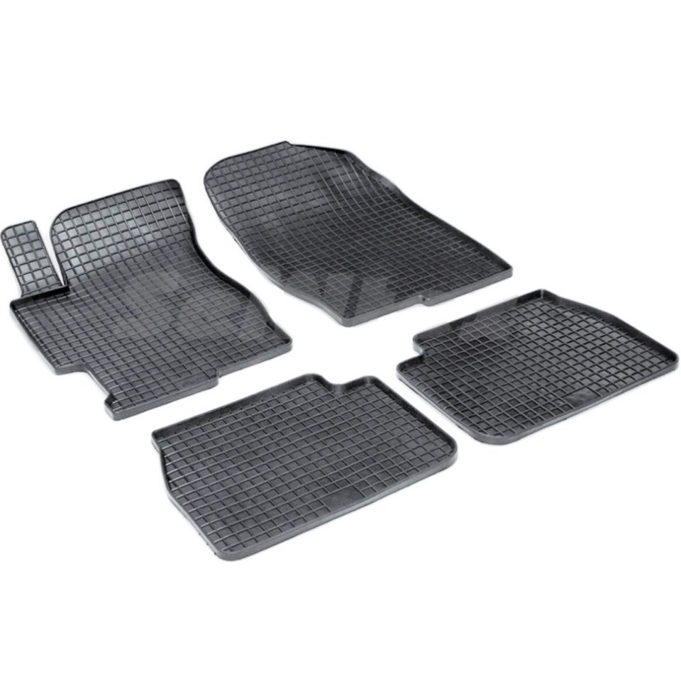 For Mazda 6 2002-2008 rubber grid floor mats into saloon 4 pcs/set Seintex 00194 for mazda 6 2002 2008 rubber grid floor mats into saloon 4 pcs set seintex 00194