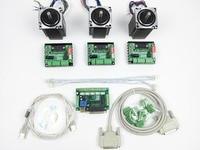 CNC Router Kit 3 Axis 3pcs 1 Axis TB6560 Driver One Interface Board 3pcs Nema23 312
