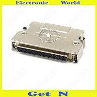 1 adet MD68F-AL SCSI Konektörü Yüksek Yoğunluklu HPDB68PIN Kaynak Dişi Adaptör Demir Kabuk Fiş Soket
