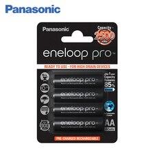 Panasonic BK-3HCDE/4BE Аккумуляторы eneloop pro 2500 мАч AA. Топовая модель высокой емкости и производительности для активных пользователей мощной техники (вспышка для фотокамеры, радиоуправляемые игрушки и пр.)