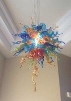 Modern Yeni Tasarım Ev dekoratif LED ışık Kaynağı Dale Tarzı Üflemeli Cam Avize