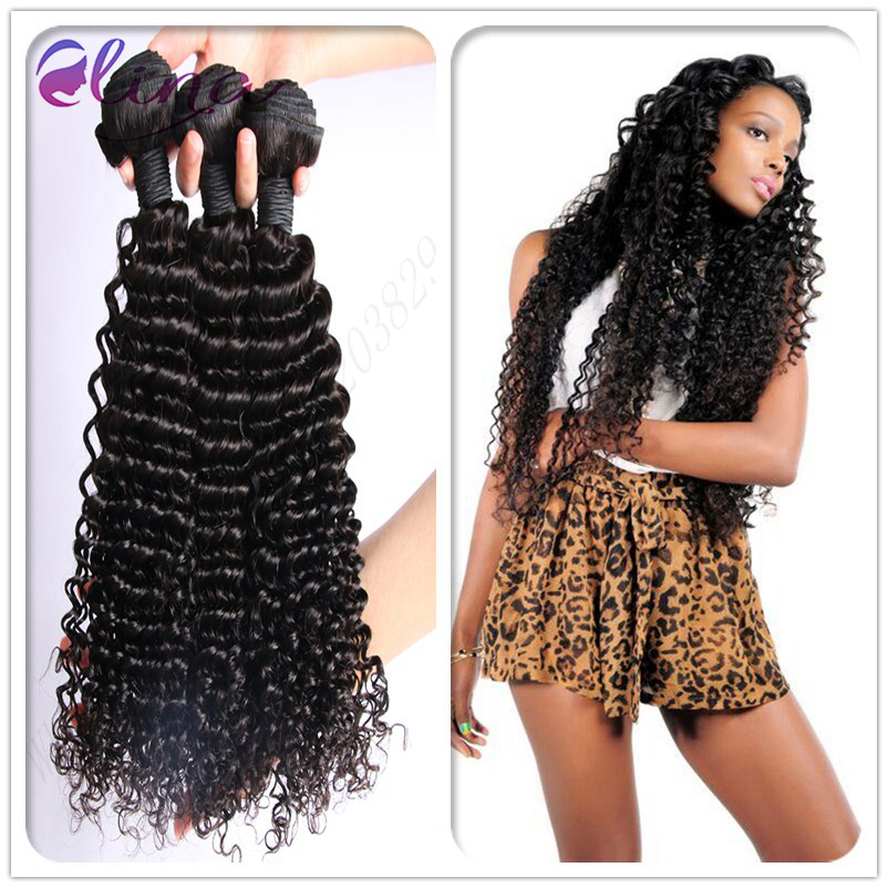 100% Human Hair Brazilian Kinky Curly Virgin Hair Brazilian Curly Weave Human Hair Extension Cheap Virgin Brazilian Hair Bundles