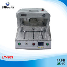 Newest LY 909 OCA vacuum laminating machine for S6 edge and S6 edge plus and all under 15 inch mobile screens
