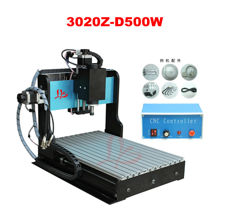 LY cnc router 3020 Z-D, 500W spindle engraving machine with the limit switch small mini cnc milling machine 3axis mini cnc router ly cnc3020z vfd1 5kw engraving machine with sink cnc cutting machine