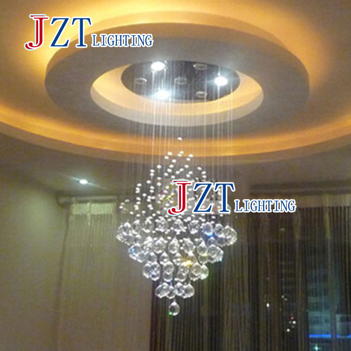 M Best Price Fashion Crystal Droplight Restaurant Bar Bar Tapered Partition Curtain Led Lights Chandelier z best price led downlight droplight double ball stair crystalline light creative bar hotel led crystal chandelier parts