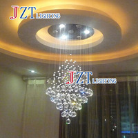 M Best Price Fashion Crystal Droplight Restaurant Bar Bar Tapered Partition Curtain Led Lights Chandelier
