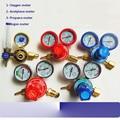 G5/8'' -14 shockproof oxygen/acetylene/argon/propane meter gas meter pressure auge regulator