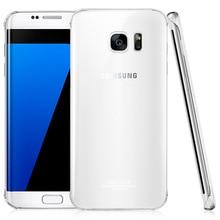 IMAK Кристалл II Прозрачный Защитный PC Трудный Случай Крышки Для Samsung Galaxy S7 Край G9350 5.5 inch Мобильный Телефон Оболочки