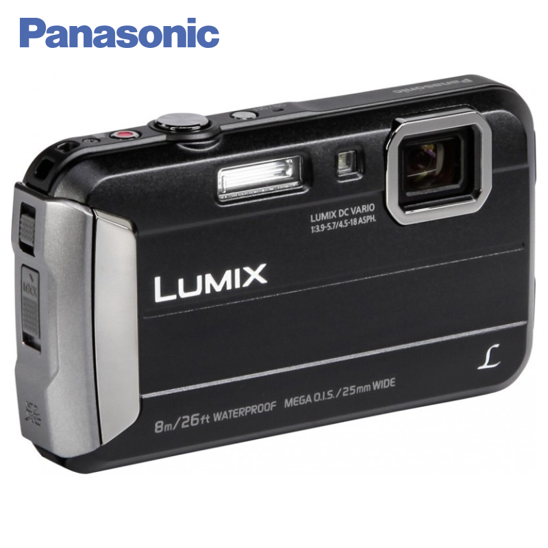 Panasonic DMC-FT30EE-K Digital Camera Built-in Memory 220 MB MEGA O.I.S. Filter effects Record video in MP4 HD format data frog hd tv game consoles 4gb video game console support hdmi tv out built in 600 classic games for gba snes smd nes format