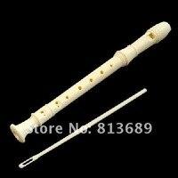 молочно-белый восемь 16-луночное флейта