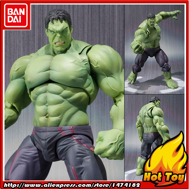 100% Original BANDAI Tamashii Nations S.H.Figuarts (SHF) Action Figure - Hulk from Avenger 2 Age of Ultron100% Original BANDAI Tamashii Nations S.H.Figuarts (SHF) Action Figure - Hulk from Avenger 2 Age of Ultron
