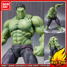 100% Original BANDAI Tamashii Nations S. H. Figuarts (SHF) Action Figure-Hulk 1.0(China)