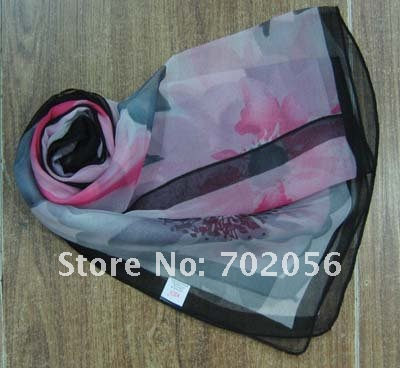Шелк чувство полиэфирные весна лето шарф платок Обёрточная бумага шарф Шарфы для женщин neckscarf 20 шт./лот#1971
