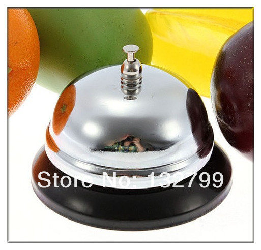 Desk Bell Offers Up The Classic Sound. Push Down With Your Palm To Make It  Ring. Ideal For Teachers, Tutors, Offices, Hotels, Etc. Material: Metal